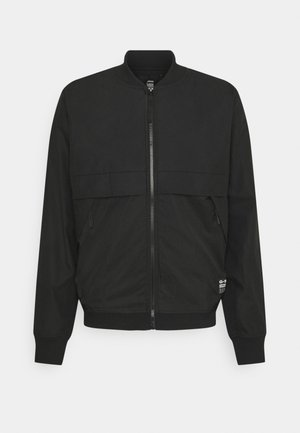 MIXED BASEBALL ZIP THROUGH - Bombejakke - black