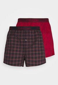 Calvin Klein Underwear - 2 PACK - Boxer shorts - purple - 0