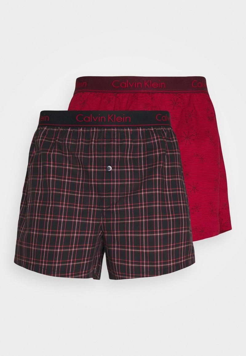 Calvin Klein Underwear - 2 PACK - Boxer shorts - purple