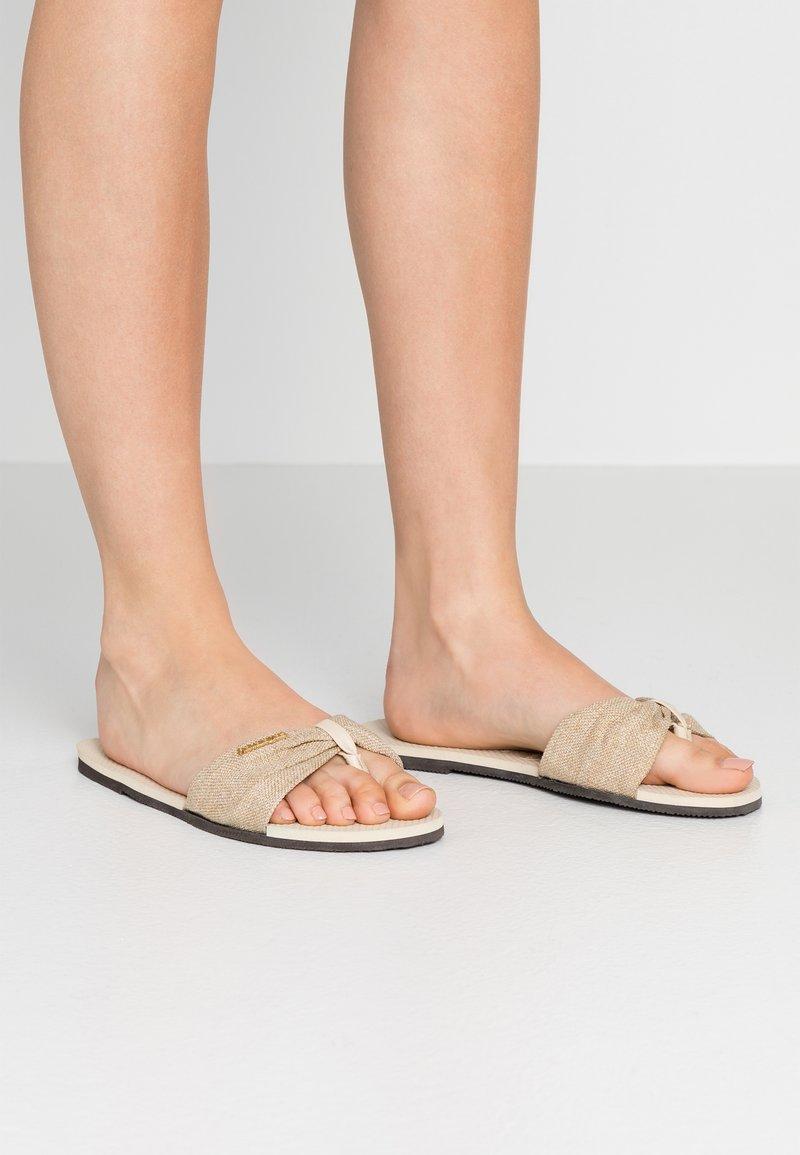Havaianas - YOU TROPEZ - Pantofle - beige