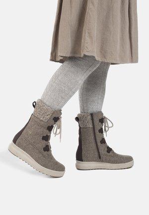REKI GORE-TEX - Snowboots  - beige