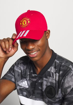 MANCHESTER UNITED SPORTS FOOTBALL KAPPE - Cap - reared/white