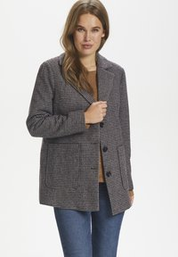 Saint Tropez - CATESZ JACKET - Winter jacket - black beauty houndstooth m - 0
