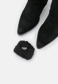 Bronx - NEW AMERICANA - High heeled boots - black - 5
