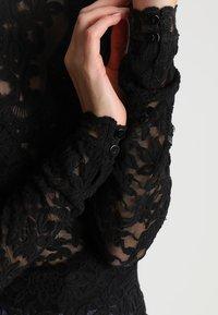 Rosemunde - T-SHIRT LS - Bluser - black - 5
