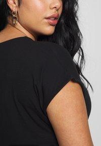 Zign Curvy - Maxi dress - black - 5