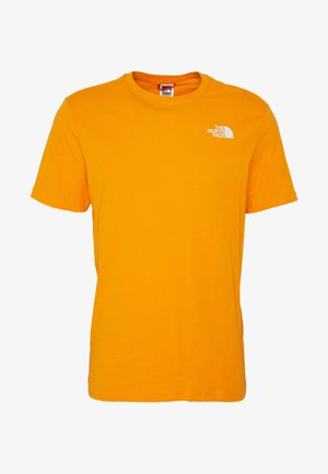 BOX TEE - T-shirt med print - flame orange
