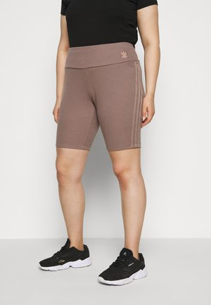 TIGHT SPORTS INSPIRED HIGH RISE - Legíny - brown