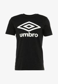 Umbro - LARGE LOGO TEE - Triko spotiskem - black - 4