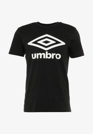 LARGE LOGO TEE - T-shirt con stampa - black