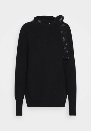 BRUNEI - Sweter - black
