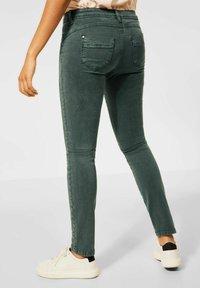 Street One - Slim fit jeans - grün - 1