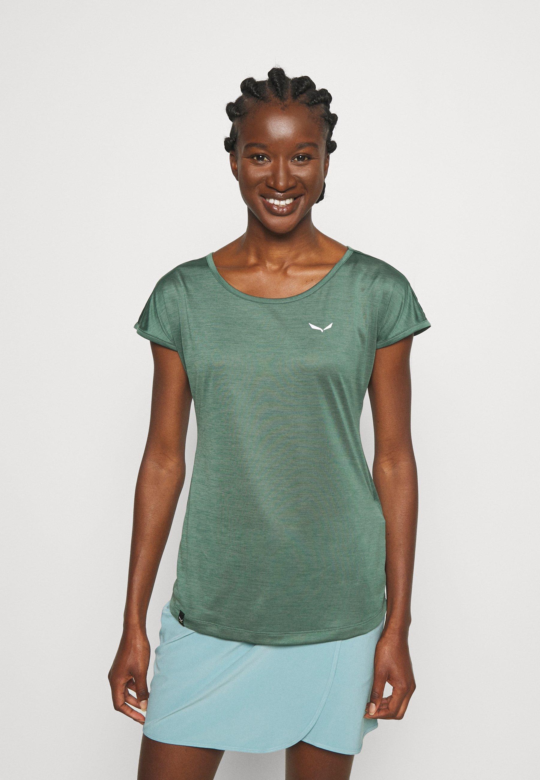 Damer PUEZ DRY TEE - T-shirts basic