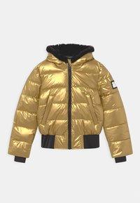 SuperRebel - START - Winter jacket - gold - 0