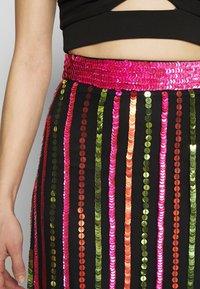 MANÉ - LAELIA SKIRT - A-line skirt - washed black/multi - 3