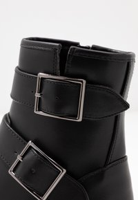 Even&Odd - Cowboy/biker ankle boot - black - 2