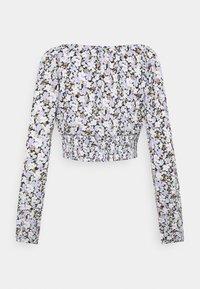 ONLY - ONLPELLA BOW - Långärmad tröja - black/pastel - 1