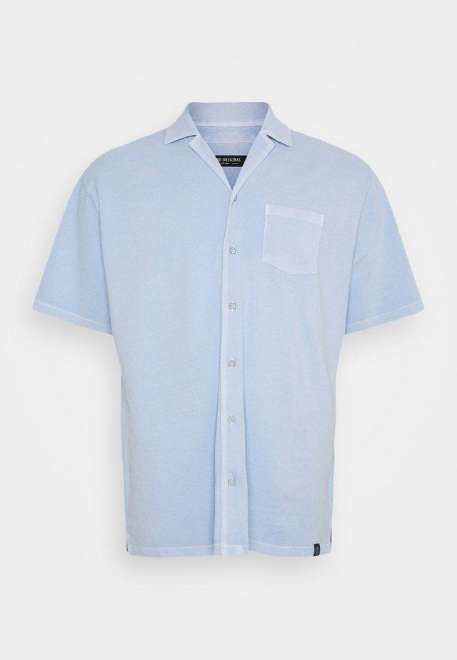 Skjorte - dusty blue