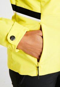 Ziener - TOYAH LADY - Ski jas - yellow power - 5