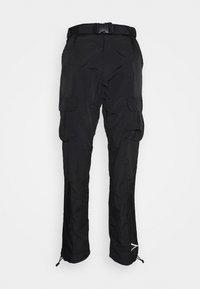 Karl Kani - SIGNATURE PANTS UNISEX - Pantalon cargo - black - 0