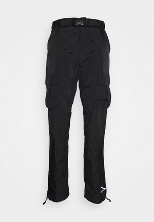 SIGNATURE PANTS UNISEX - Cargobroek - black