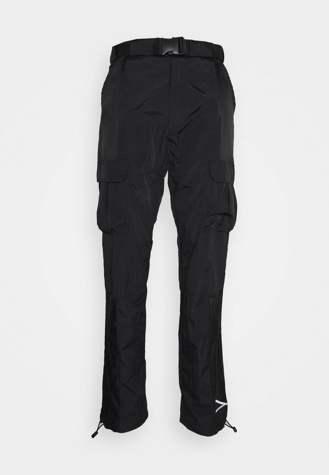 SIGNATURE PANTS UNISEX - Kapsáče - black
