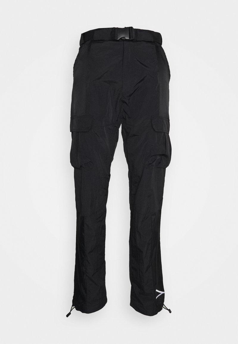 Karl Kani - SIGNATURE PANTS UNISEX - Pantalon cargo - black
