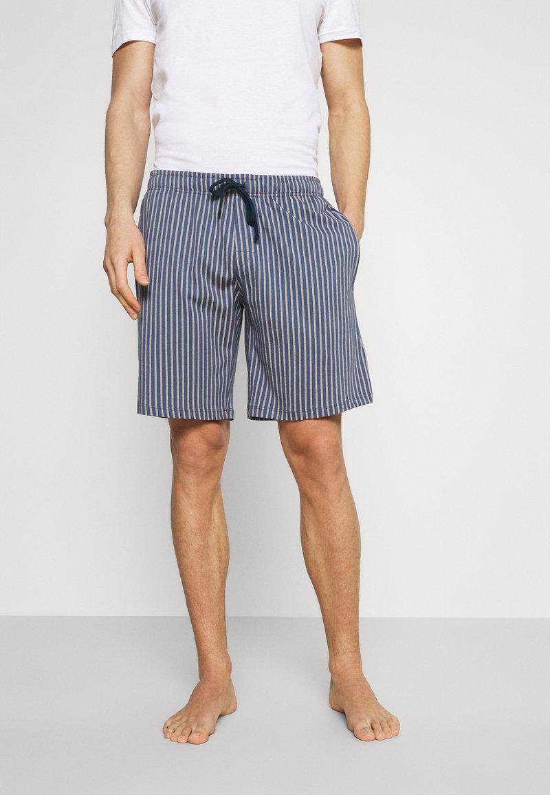 Schiesser - BERMUDA - Pyžamový spodní díl - jeansblau