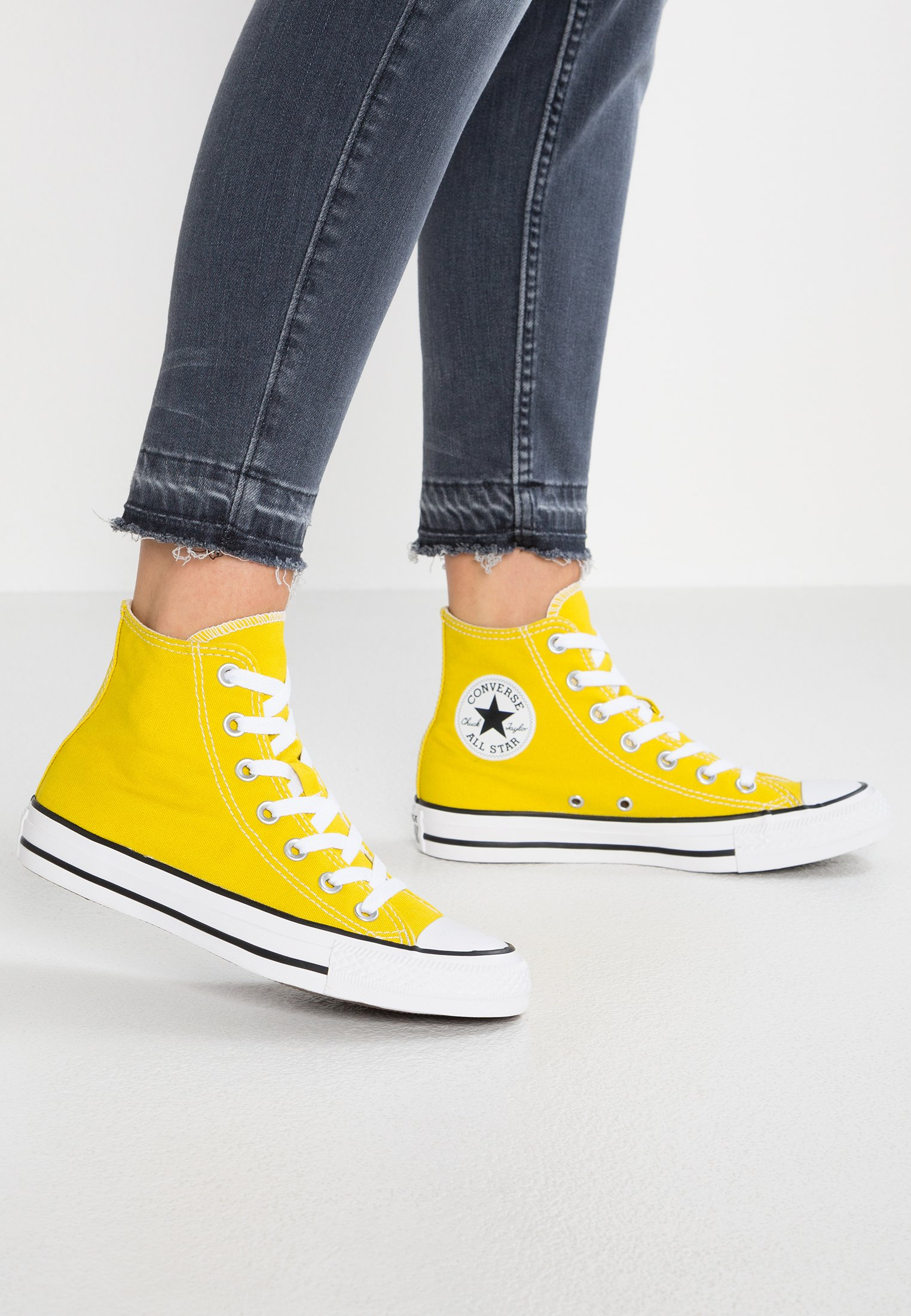 converse all star haute jaune