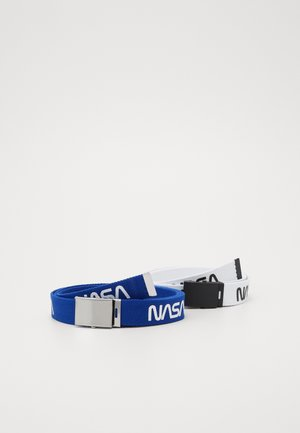 NASA BELT EXTRA LONG 2 PACK - Belt - blue/white