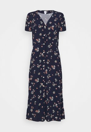 MIDI DRESS - Day dress - navy