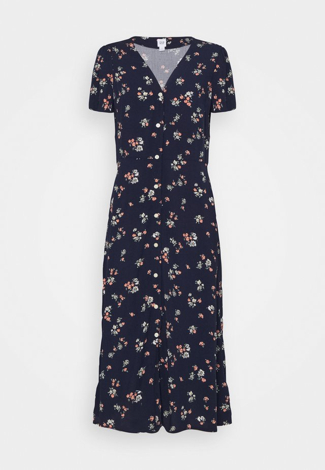 MIDI DRESS - Robe d'été - navy