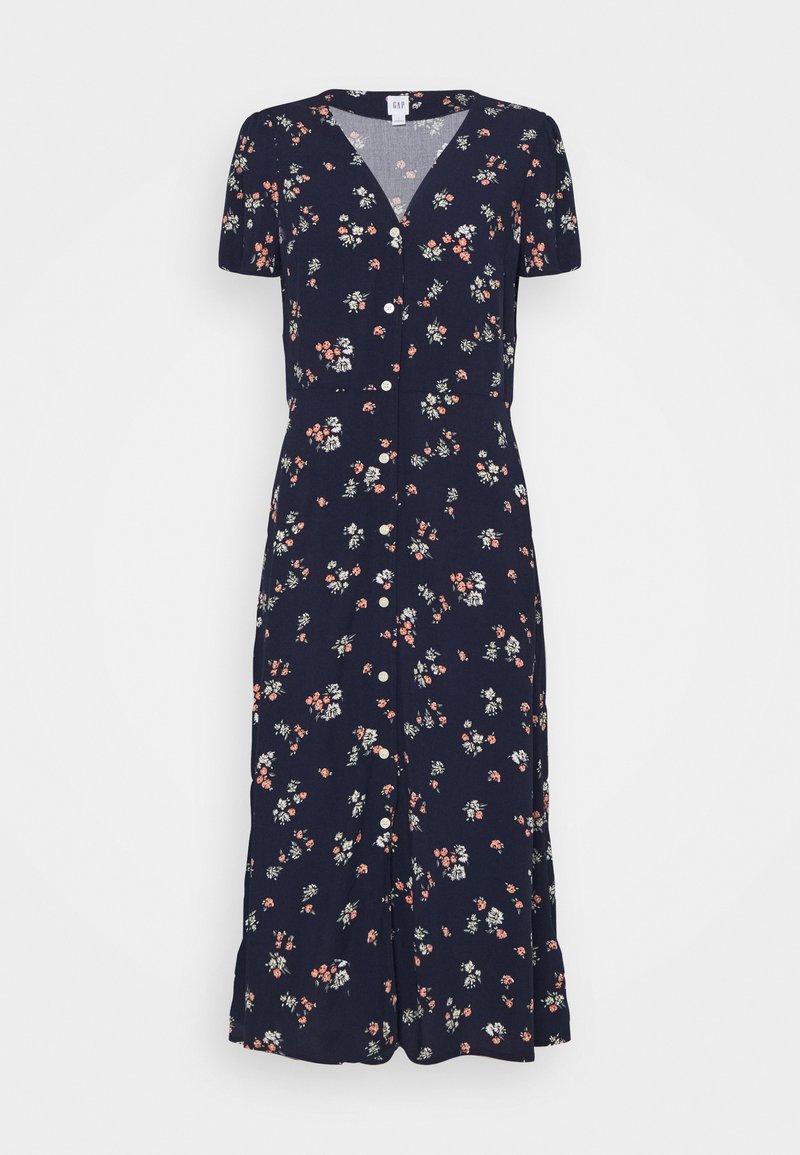 GAP - MIDI DRESS - Day dress - navy