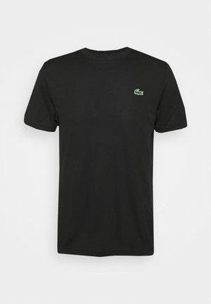 TENNIS - Basic T-shirt - black