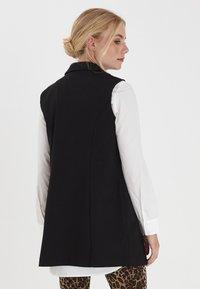 Fransa - Waistcoat - black - 3