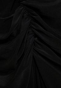 Club L London - RUCHED MIDI DRESS - Shift dress - black - 5