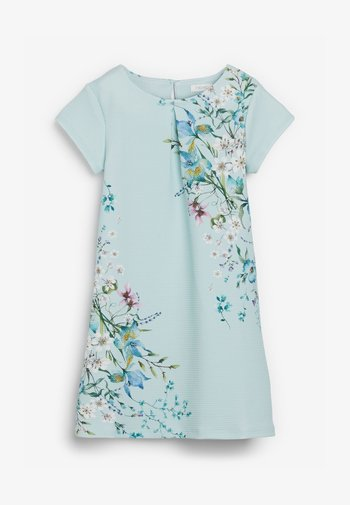 BERRY FLORAL PONTE  - Day dress - green