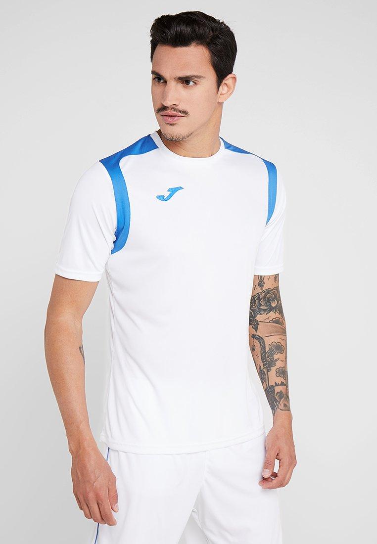 Joma - CHAMPION - Print T-shirt - white/royal