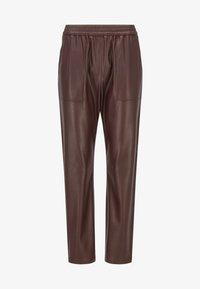 BOSS - TAJOGY - Pantalon de survêtement - dark brown - 4