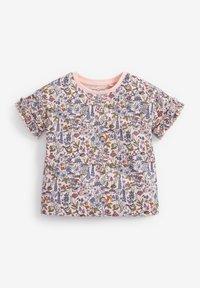 Next - 5 PACK - T-shirt print - pink - 4