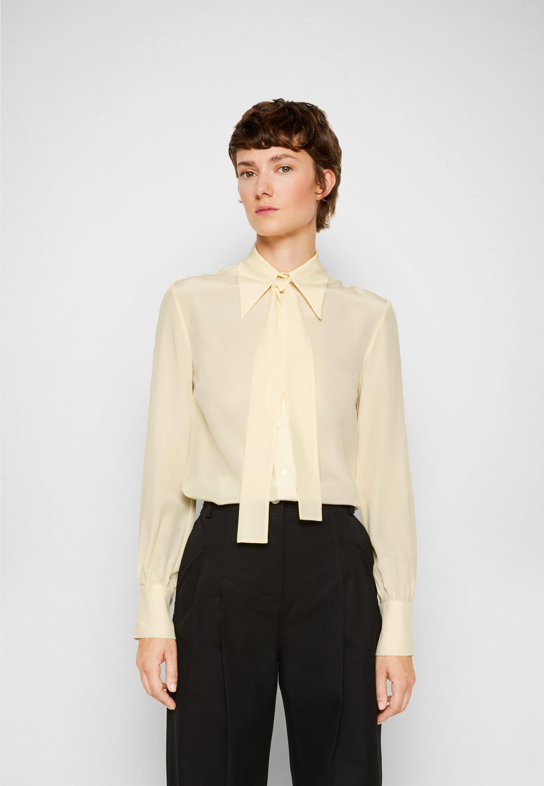 Women TIE NECK SHIRT - Button-down blouse