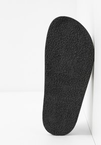 Topshop Wide Fit - WIDE FIT PEDRO FOOTBED - Mules - black - 6