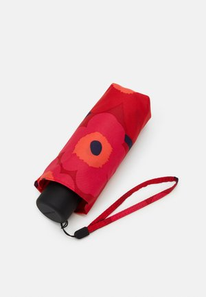 MINI UNIKKO MANUAL UMBRELLA - Paraguas - red/dark red