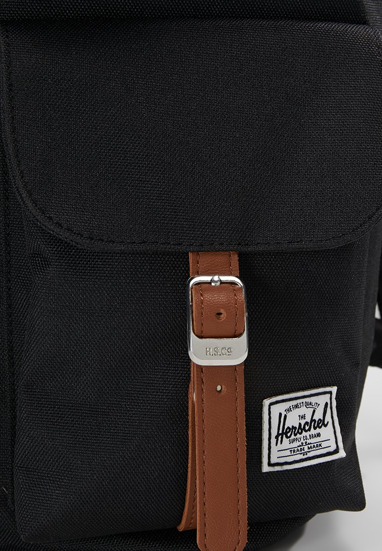 Herschel DAWSON X SMALL - Tagesrucksack - black/tan/schwarz - Herrentaschen FN6Q4