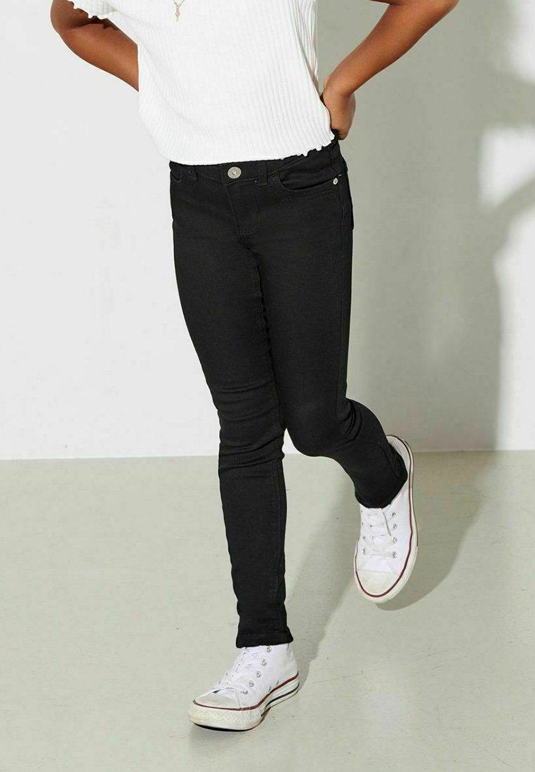 Kids ONLY - KONKENDELL  ETERNAL - Jeans Skinny Fit - black