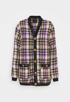 JACKET - Cardigan - mult marrone/viola