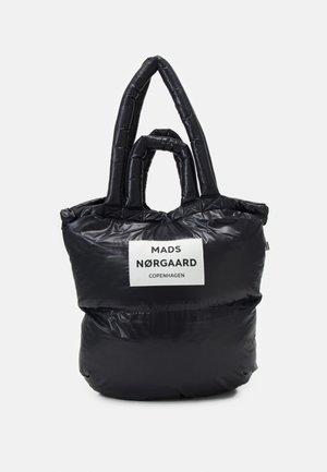 SHINY PILLOW - Tote bag - black