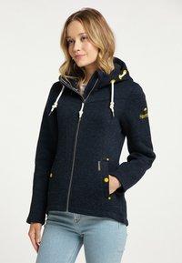 Schmuddelwedda - Fleece jacket - marine melange - 0