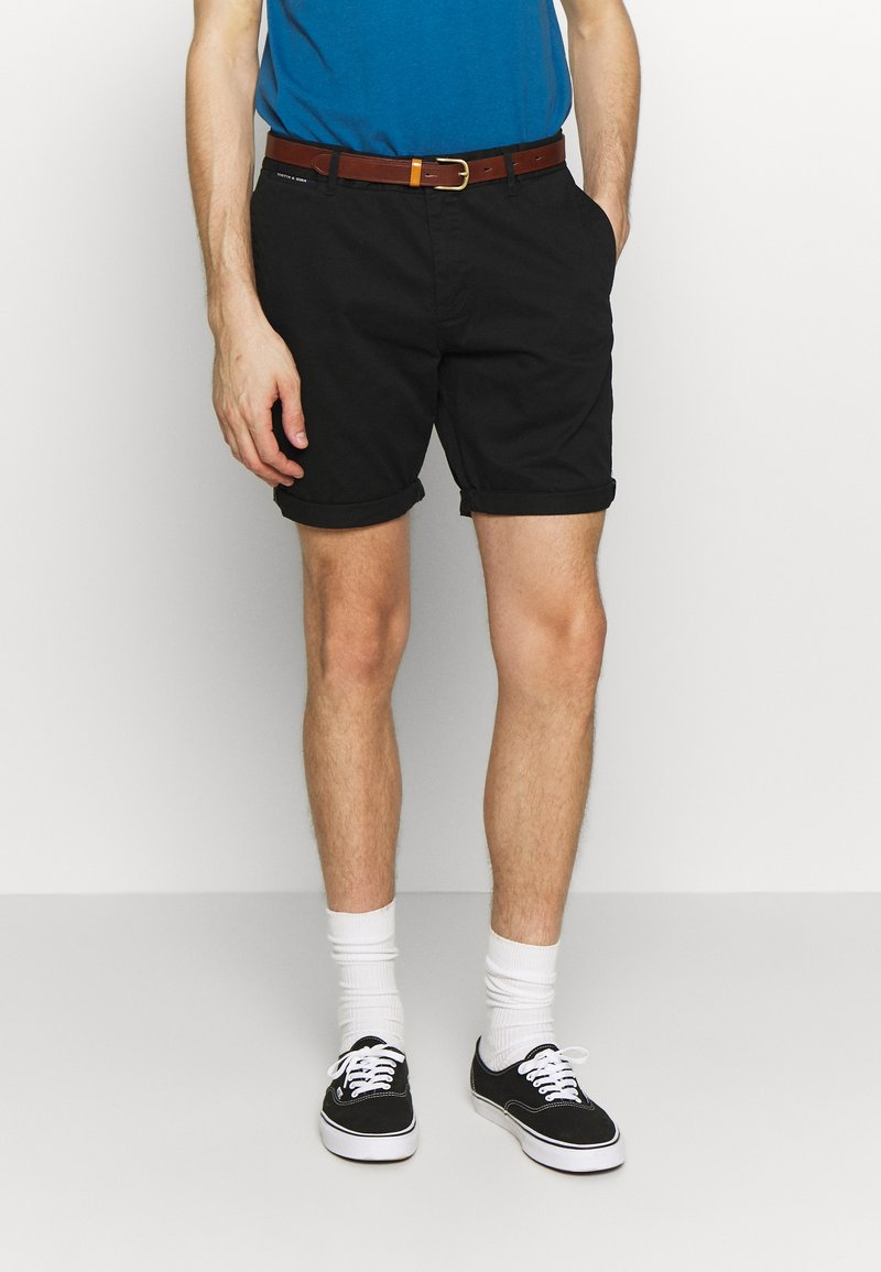 Scotch & Soda - CLASSIC - Shorts - black
