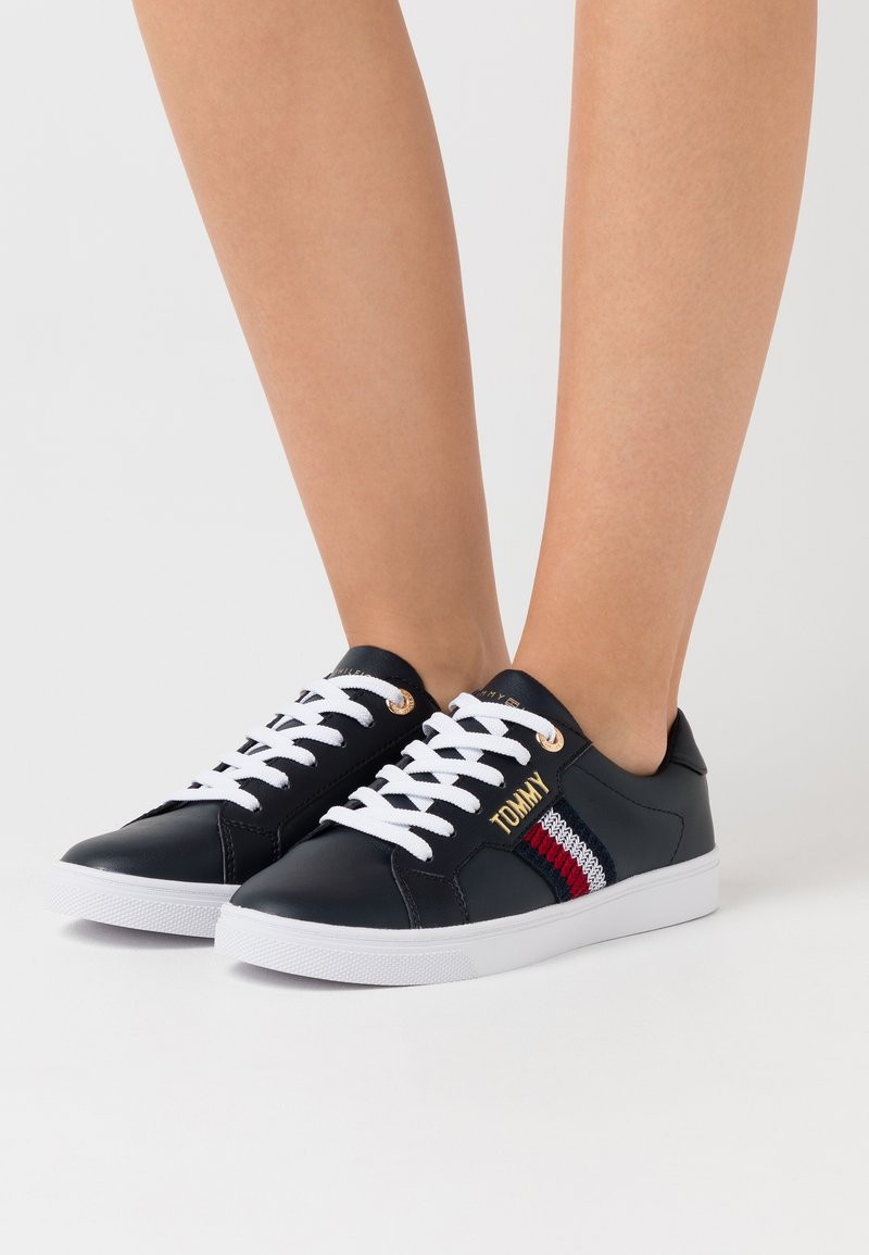 Tommy Hilfiger - LACE UP  - Trainers - desert sky
